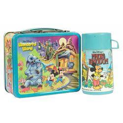 Walt Disney World Lunch Box with Thermos.