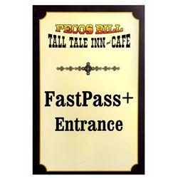 Pecos Bill Tall Tale Inn and Cafe  Restaurant Sign.