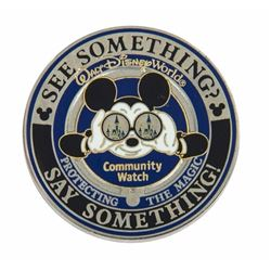 "Walt Disney World Security Division ""Challenge Coin""."