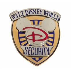 Walt Disney World Security Badge.