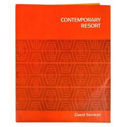 Contemporary Resort Welcome Packet.