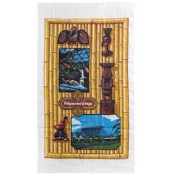"""Polynesian Village"" Souvenir Kitchen Towel."