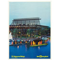 Polynesian Village Resort Poster.