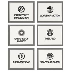 EPCOT Center Presentation Logo Displays.