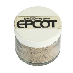 EPCOT Ground Breaking Ceremonies Program and Souvenir Dirt.