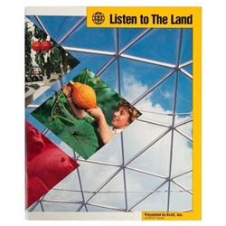 "EPCOT ""Listen to The Land"" Guide Book."