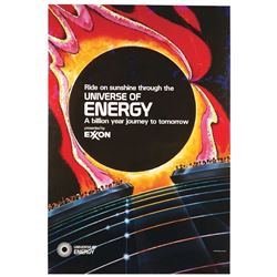 EPCOT  Universe of Energy  Attraction Poster