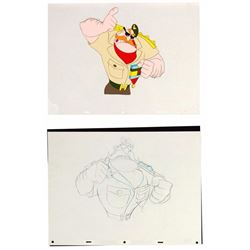 """Cranium Command"" Animation Cel & Drawing."