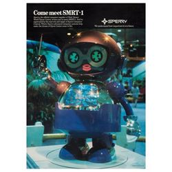 SMRT-1 Epcot Center Robot Poster.