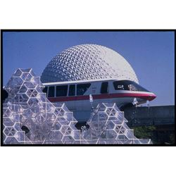 Collection of (78) Commercial Color Slides of EPCOT - 1984.