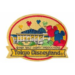 Tokyo Disneyland Opening Year Patch.