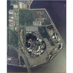 Tokyo Disneyland WED Office Aerial Photo.