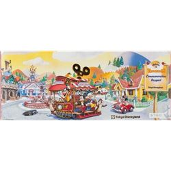 Tokyo Disneyland Toontown Opening Passport.