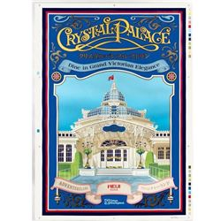 "Tokyo Disneyland ""Crystal Palace"" Poster Artist's Proof."