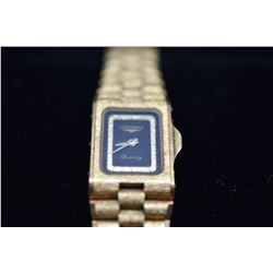 Ladies Longines Quartz Wristwatch - Metal Link Band, Operating Condition Unknown, Clasp Needs Repair