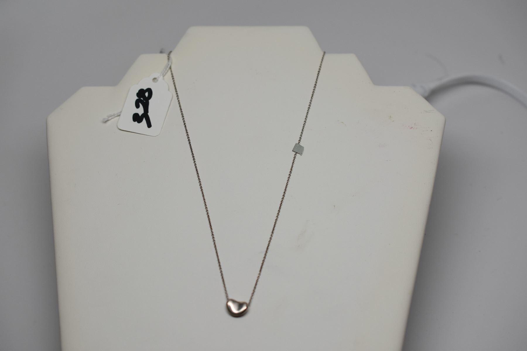 6221e2683453e Tiffany & Co. Sterling Silver 16