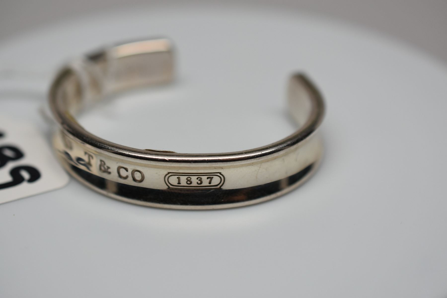 e745bc0f4 Tiffany & Co. Sterling Silver Bangle Bracelet 2 1/2
