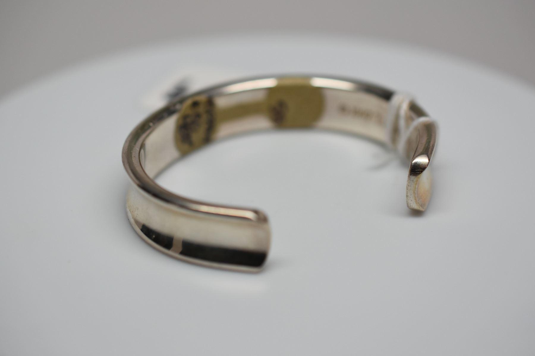 82faddd2ed42a Tiffany & Co. Sterling Silver Bangle Bracelet 2 1/2