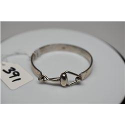 "Tiffany & Co. Sterling Silver Bangle Bracelet 2 1/4"" X 1/4"" Wide"