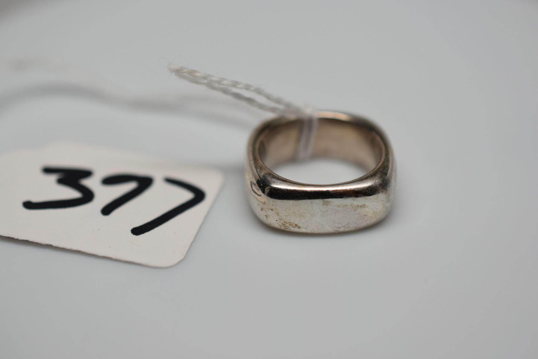 6a3e781da Sterling Silver Square Cushion Ring Size 6 · Image 2 : Tiffany & Co. Sterling  Silver Square Cushion Ring Size ...