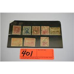 Vintage Hawaii Stamps