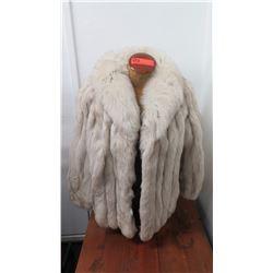 Authentic Fur Coat (Jacket) - Blue Fox, (Herbert's Furs, San Francisco)