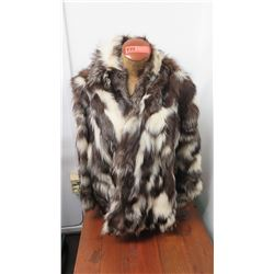 Authentic Fur Jacket - Multi-Colored Fox (Carol & Mary, Hawaii)