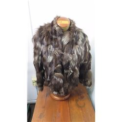 Authentic Fur Coat (Jacket) - Silver Fox (Manufacturer Unknown)