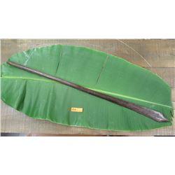 "Vintage Hardwood Spear - Approx. 52"" Long"