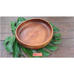 """Wood Bowl - Approx. 15 1/2"""" Diameter, 3 3/4"""" H"""