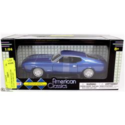 1971 FORD MUSTANG SPORTS ROOF SCALE 1:24 DIE CAST
