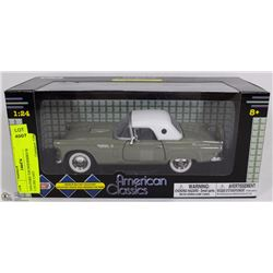 1956 FORD THUNDERBIRD SCALE 1:24 DIE CAST