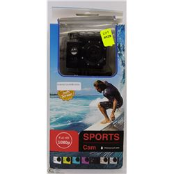 NEW FULL 1080P SPORTS ACTION CAM WITH MOUNTS