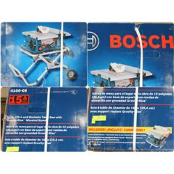 """FEATURED ITEM: BOSCH 10"""" WORKSITE TABLE SAW WITH"""