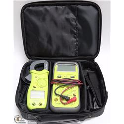 TPI MULTIMETER KIT WITH 2 HANDHELD MACHINES IN