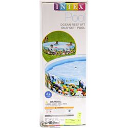 INTEX 8' X1' SNAPSET POOL