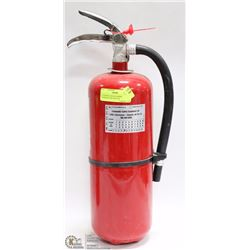 10 LB FIRE EXTINGUISHER, CHARGED AND SEALED