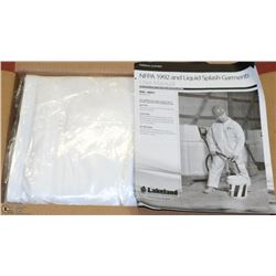 CASE OF 6 LAKELAND DISPOSABLE COVERALLS