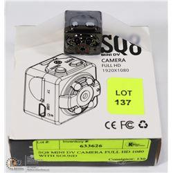SQ8 MINI DV CAMERA FULL HD 1080 WITH SOUND