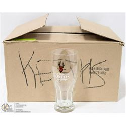 BOX OF 12 NEW ALEXANDER KEITHS 16OZ GLASSES