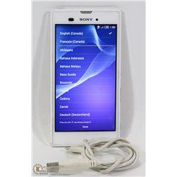 SONY XPERIA M4 AQUA DUAL16G WHITE (UNLOCKED) PHONE