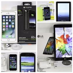 FEATURE CELL PHONES AND TABLETS LOTS 162-181
