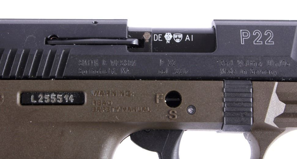 Walther P22 Semi-Automatic  22 Pistol