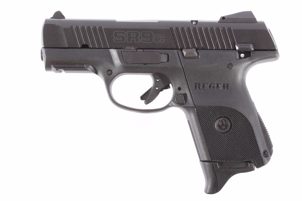 Ruger SR9C Compact 9x19mm Pistol w/Case