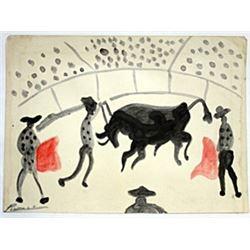 Los Toreros - Pablo Picasso