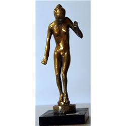 Nude - Gold over Bronze Sculpture - after Leo Mol