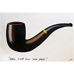 Ceci N'Est Pas Une Pipe - Rene Magritte
