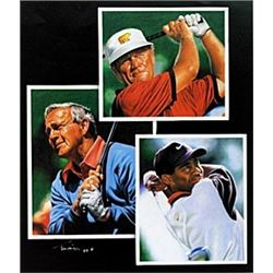 "Print ""Golf Legends""  Tim Cortes"