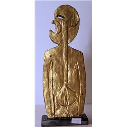 Gold over Bronze Sculpture - after Rufino Tamayo