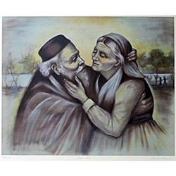 "Lithograph ""First Love""  Rhoda S."